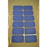 Replacement pads for Tens 7000 massagers 2 x 3.5 inch