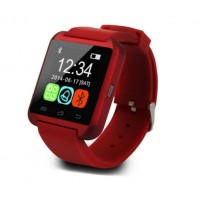 Red U8 Bluetooth Smart Wrist Watch Phone Mate For IOS Android iphone Cellphone