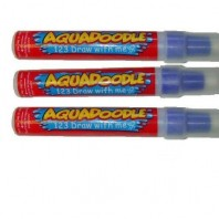 NEW Aquadraw Aquadoodle New Replacement Water Pens 3 Pack