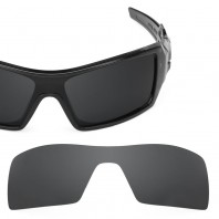 New Revant Stealth Black Replacement Lenses for Oakley Oil Rig