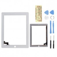 New Touch Screen Glass Digitizer Replacement for Apple iPad 2G White + Tools