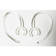 2 Clear Large Clamp Earhook Universal Bluetooth replacements Samsung Wep 460 US