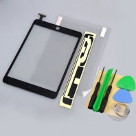 Brand New Black Front Touch Screen Glass Digitizer Lens Replacement for iPad Mini