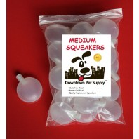 20 MEDIUM Replacement SQUEAKERS SQUEEKERS Repair Fix Dog Pet TOYS