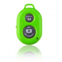 Green Selfie Wireless Bluetooth Remote Camera Shutter For Samsung Galaxy S5 S4