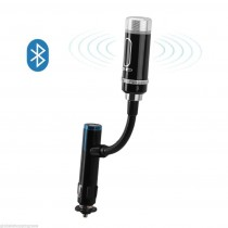 For Samsung Galaxy iPhone 6 Wireless Bluetooth audio FM Transmitter Car Charger